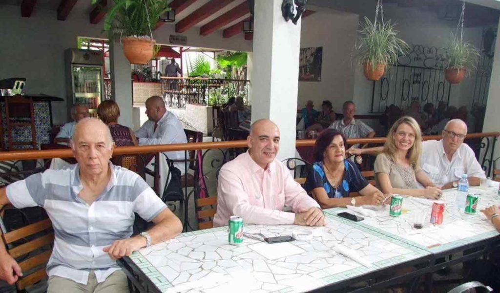 Pedro González, Marco Peñín, María Antonia Rabanillo, Nuria Reigosa y Julio Santamarina.