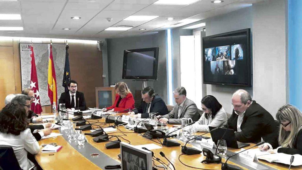 Sesión constitutiva del Consejo de la Emigración y el Retorno, celebrada en Madrid el pasado 9 de enero.