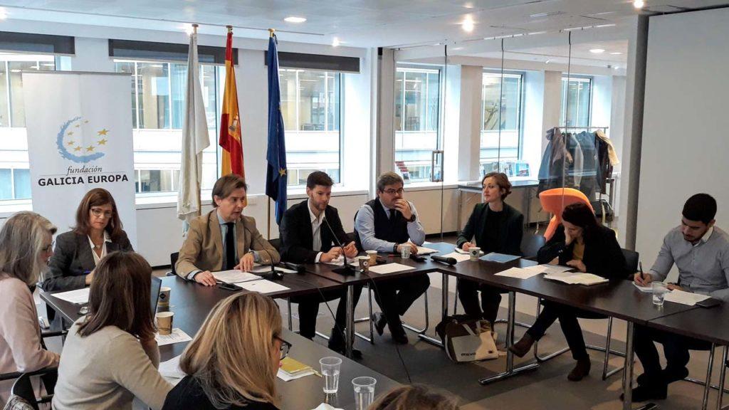 El director xeral de Relacións Exteriores e coa UE, Jesús Gamallo, inauguró en la sede de la Fundación Galicia Europa una nueva reunión del Grupo Operativo Brexit de la Comisión del Arco Atlántico (CAA).