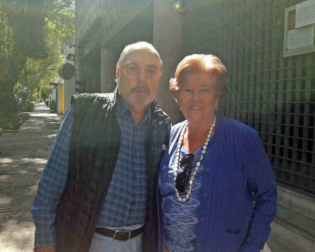 Gabriel Puch (Barcelona) y Mª Azucena (Asturias) fueron los últimos en votar.