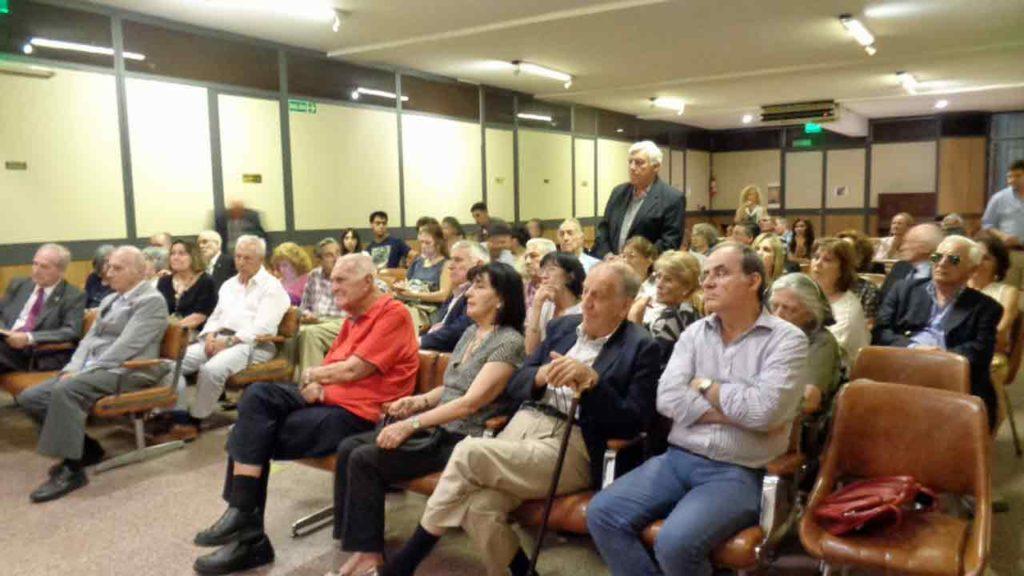 Público asistente al evento.