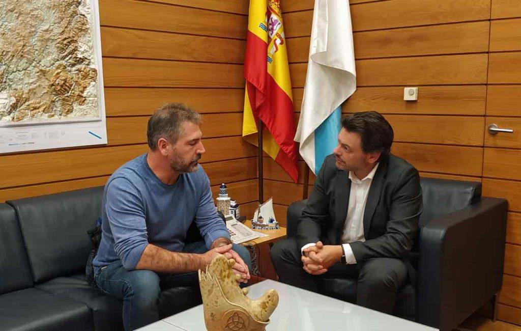 Manuel Amarelle y Antonio Rodríguez Miranda.