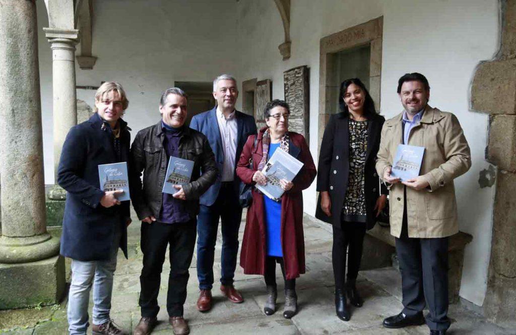 Roi Casal, Julio César González Pagés, Valentín García, Rosario Álvarez, Yahima Martínez Millán y Antonio Rodríguez Miranda.