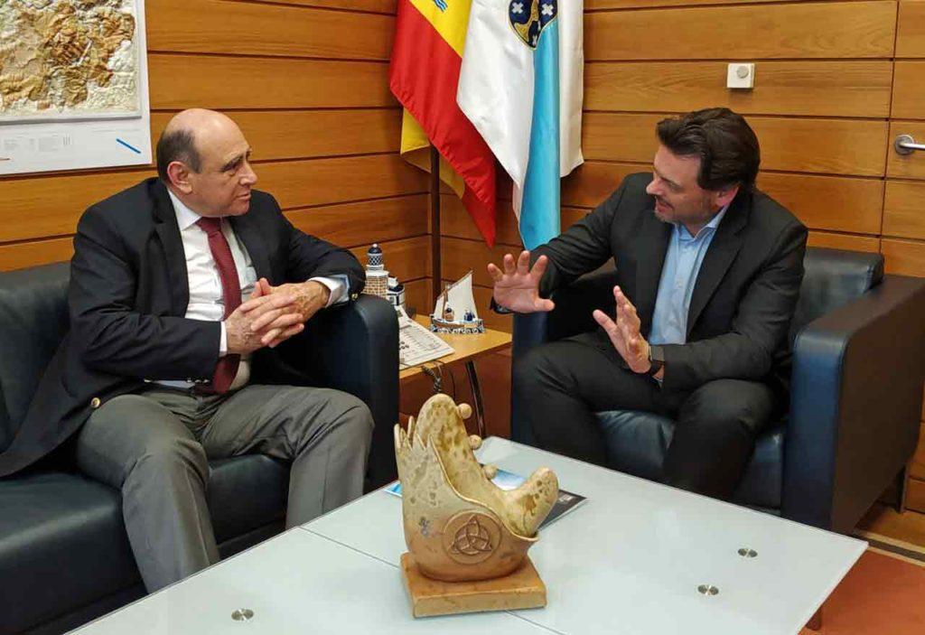 José Enrique Sienra y Antonio Rodríguez Miranda.