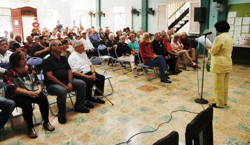 La presidenta, María Antonia Rabanillo, pronunció las palabras centrales por el Día del Migrante en la Ascyl.