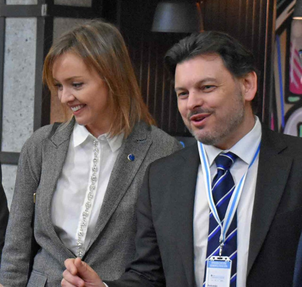 Fabiola García y Antonio Rodríguez Miranda.