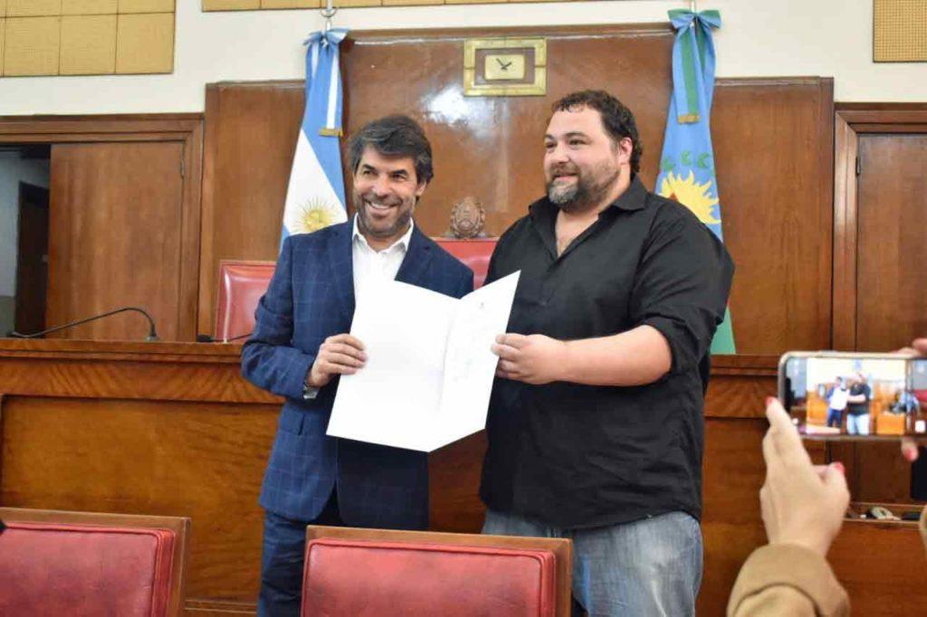 Óscar Caballero y Marcelo Carrara.