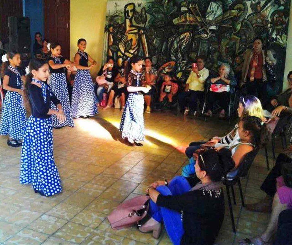En la actividad participó el grupo de danza de la Sociedad Gallega de Matanzas.