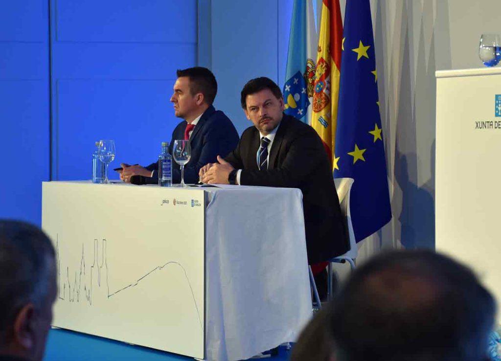 Antonio Rodríguez Miranda en una sesión del pleno del Consello de Comunidades Galegas.