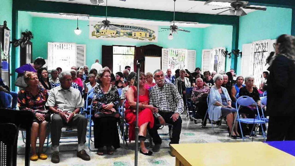 La actividad se celebró en los salones del Club Villarino de La Habana.