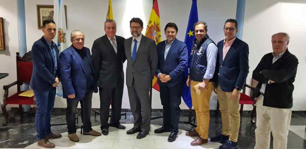 Miembros de la Federación de Centros Españoles de Venezuela.