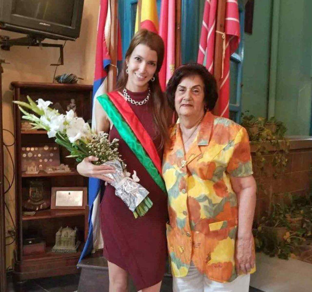 Ariadne Miret y María Antonia Rabanillo.