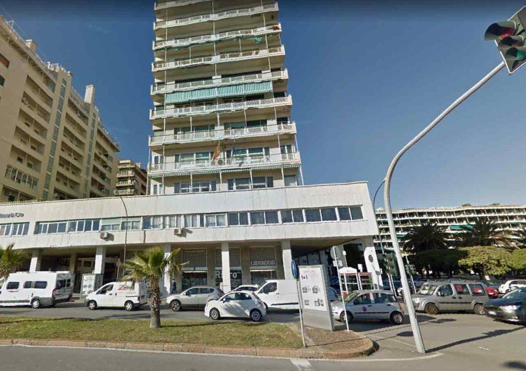 Edificio donde se encuentra el Consulado Español de Génova.