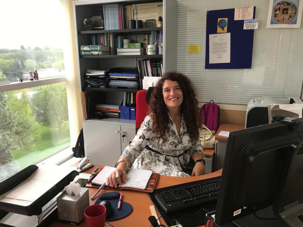 Eva Ortega Paíno es secretaria general de RAICEX desde julio de 2019, un mes antes de retornar de Suecia.