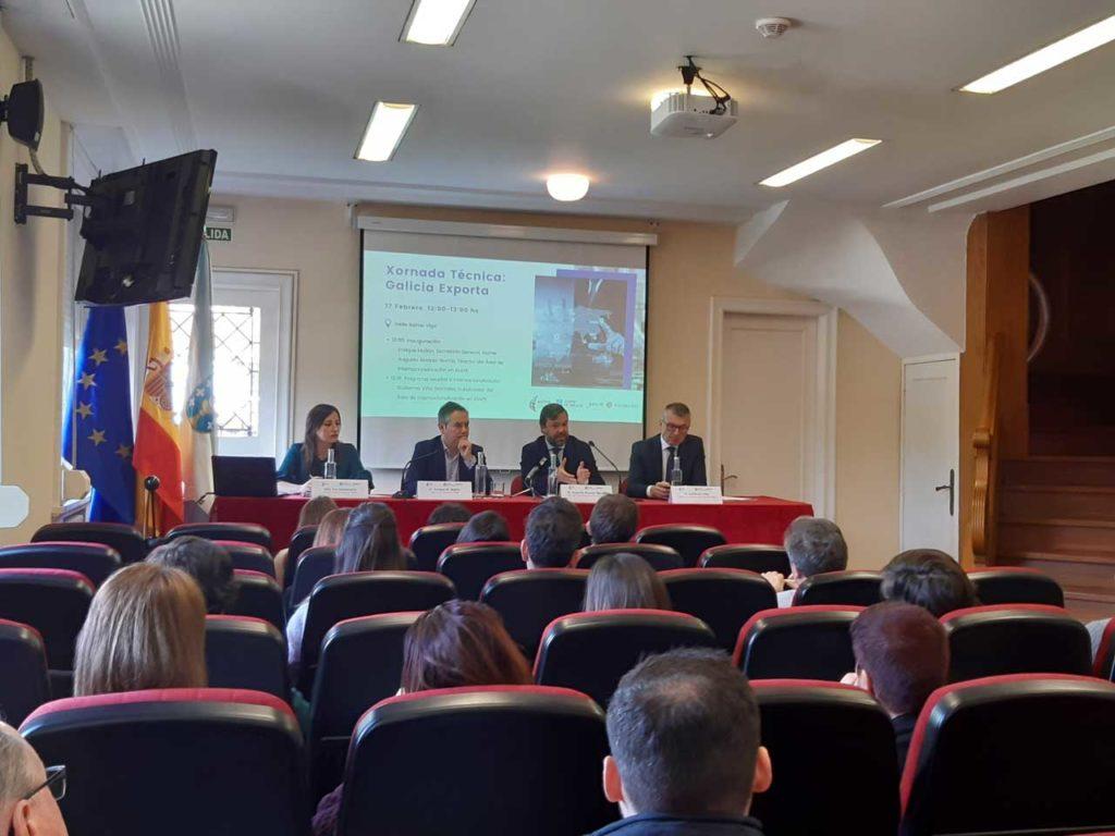 Imagen de la reunión celebrada en Vigo.