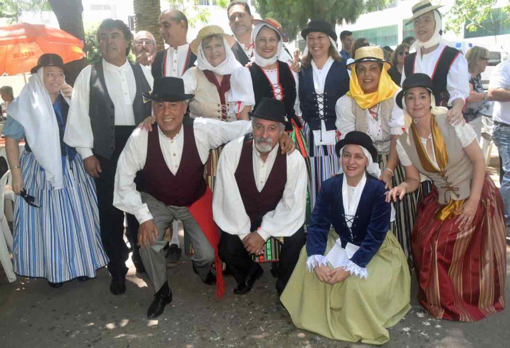 Los canarios del Espacio Cultural Islas Canarias-Uruguay Identidad Guanche.