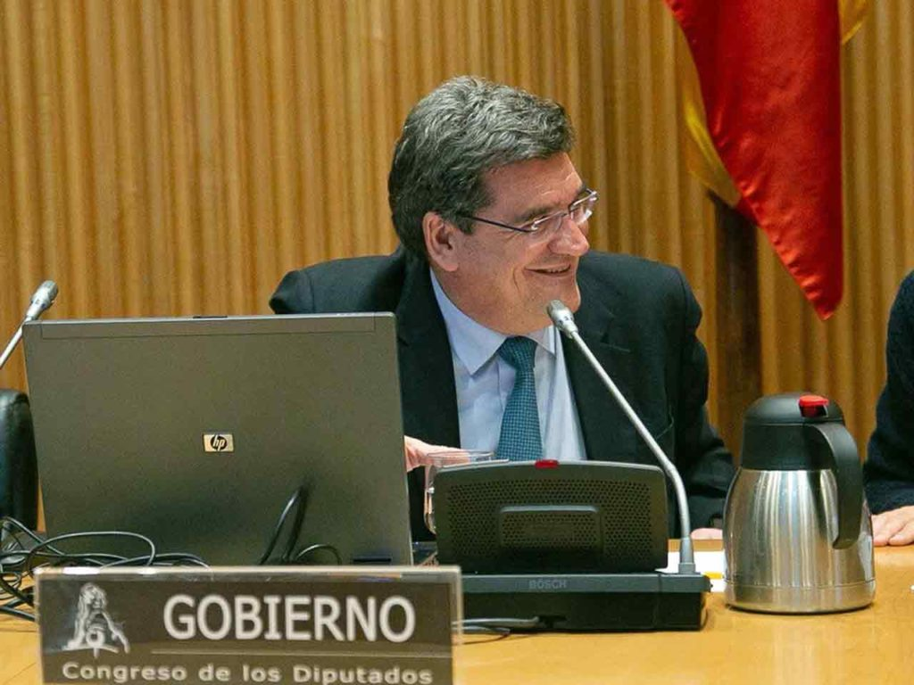 José Luis Escivá en la Comisión de Trabajo, Inclusión, Seguridad Social y Migraciones el pasado 27 de febrero.