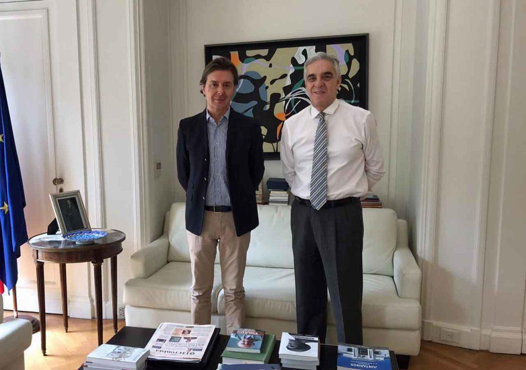 Jesús Gamallo y Javier Sandomingo.