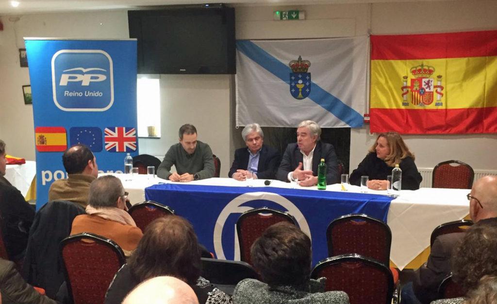 Luis Quiroga, Jesús Ledo, José Manuel Barreiro y Ana Marco.