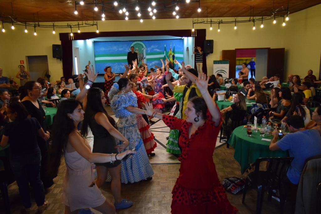 La fiesta estuvo muy animada, pese a las restricciones por el coronavirus.