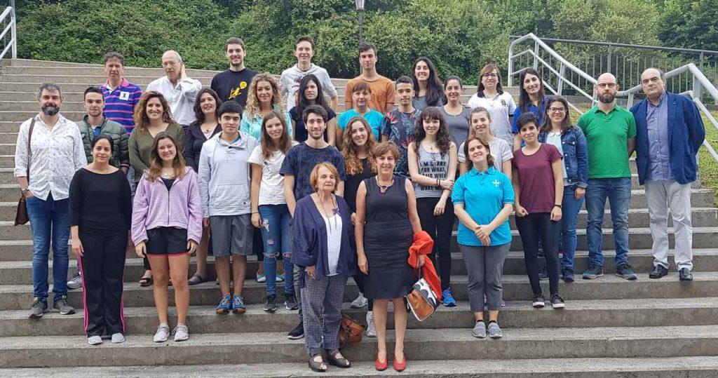 Participantes en la edición de 2018 de la Escuela de Verano de Asturianía.