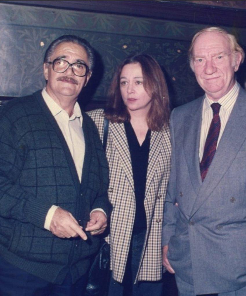 Lauro Olmo con Emma Cohen y Fernando Fernán Gómez.