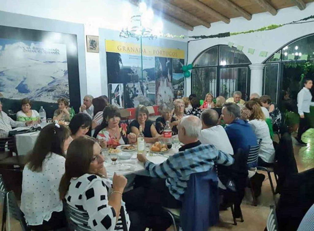 Celebración del Día de Andalucía en el Centro Andaluz de Mendoza.