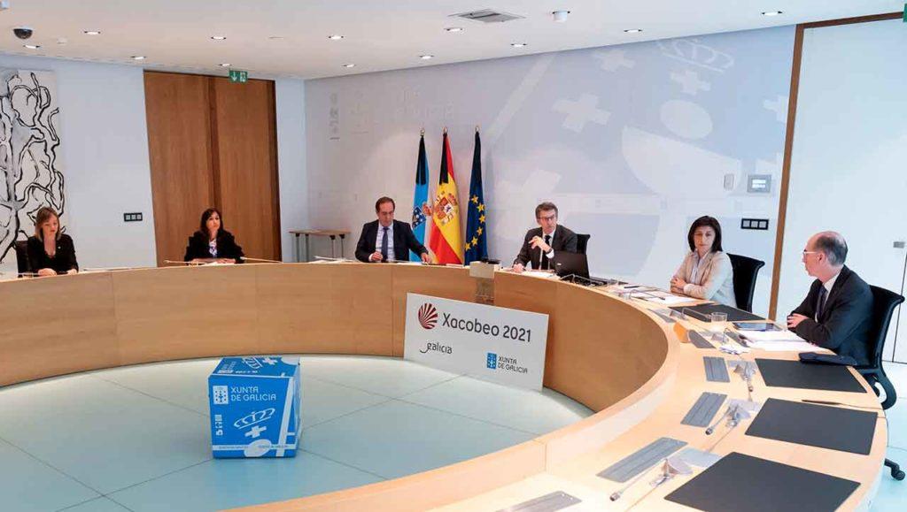 Reunión del Consello de la Xunta del viernes 22 de mayo.