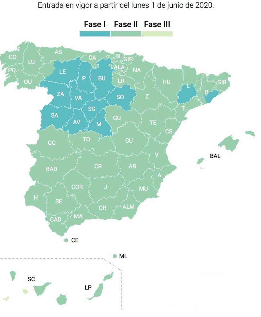 El mapa actualizado.