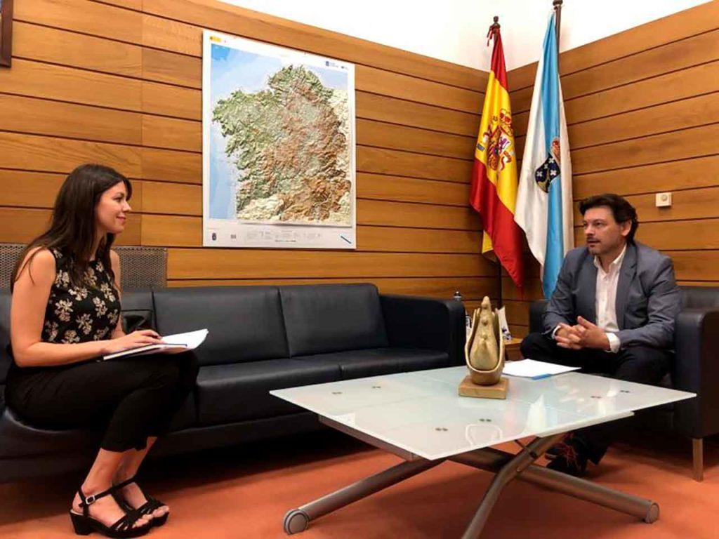 María Belén Rosbier y Antonio Rodríguez Miranda.