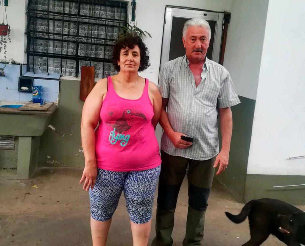 Carmen Pérez Cereijo y su esposo Manuel.