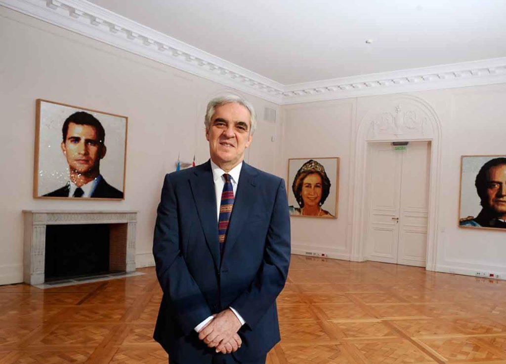 El embajador de España en Buenos Aires, Javier Sandomingo.