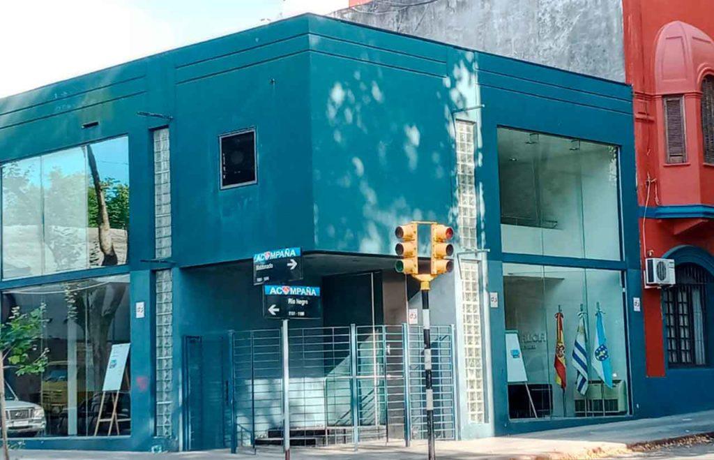 Sede de la Delegación de la Xunta de Galicia en Montevideo.