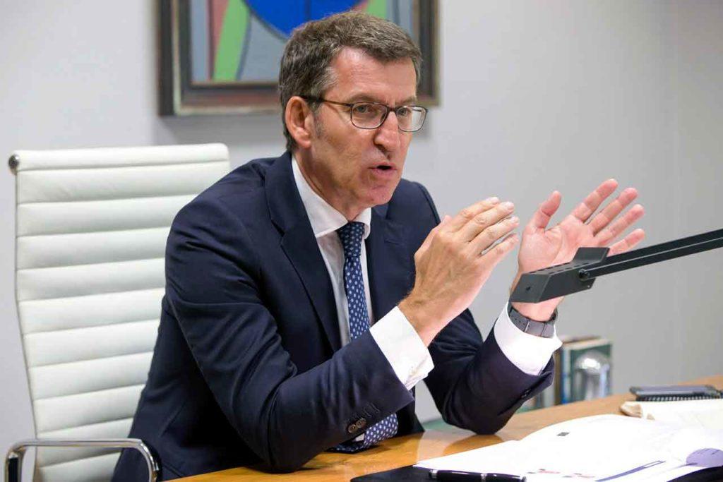 Alberto Núñez Feijóo.