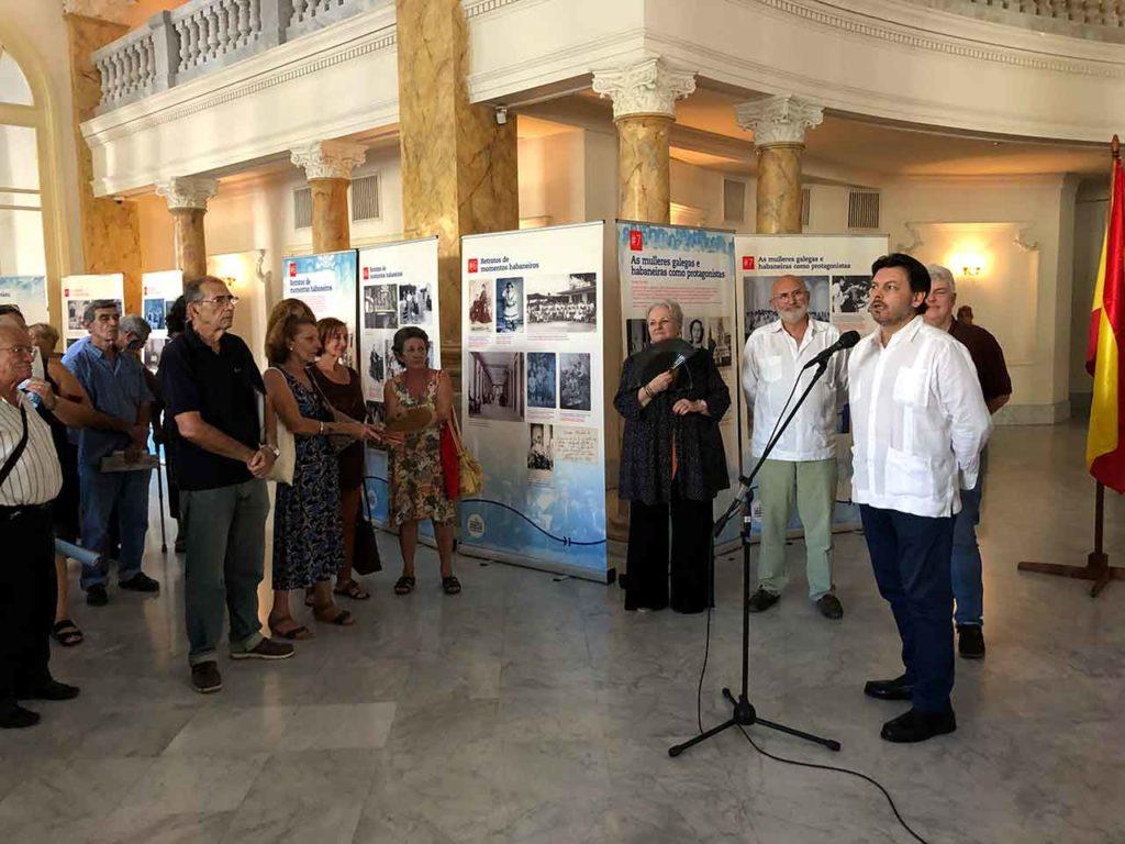La exposición fue inaugurada en octubre de 2019 en el Gran Teatro de La Habana dentro de los actos por el quinto centenario de la capital cubana.