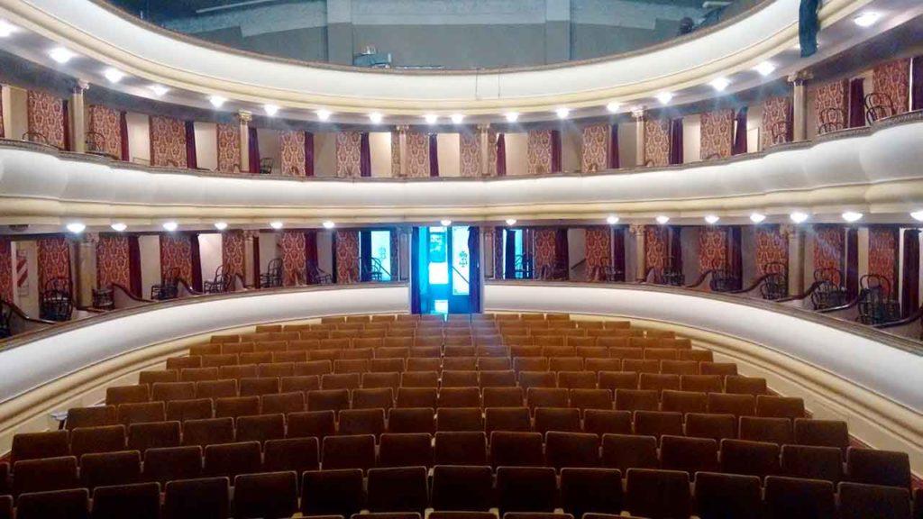 La Sociedad Española de Trelew realizó mejoras en su Teatro.