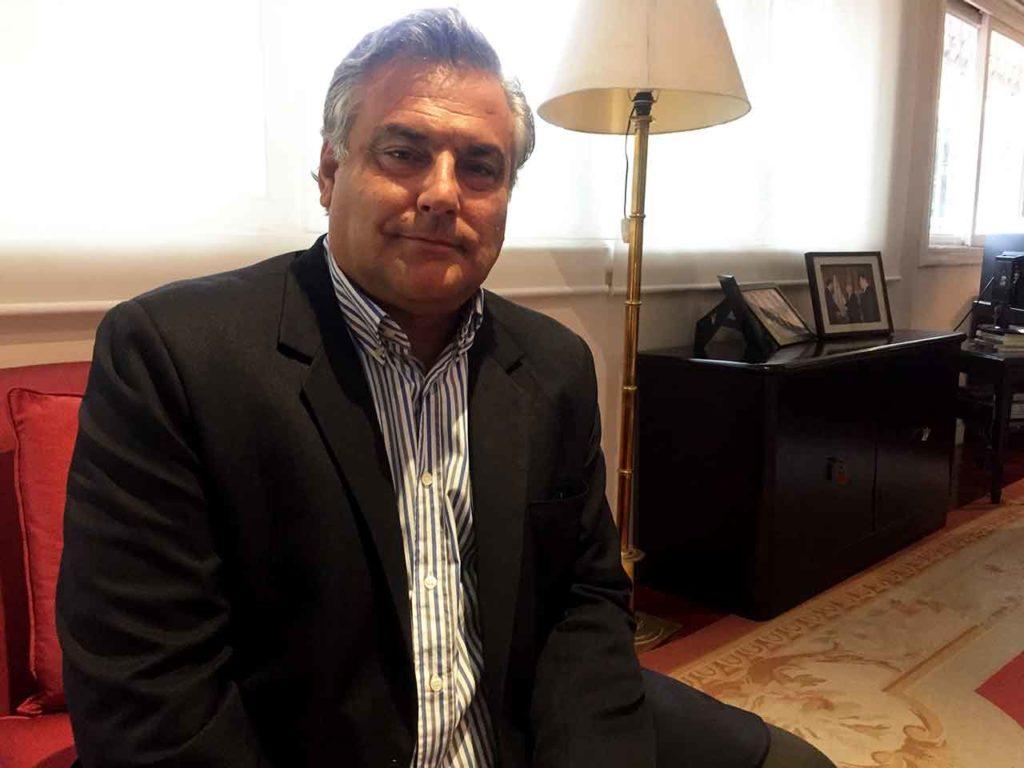 El embajador de España en Venezuela, Jesús Silva Fernández.