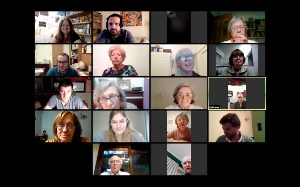 Encuentro en línea organizado por el Centro Soriano Numancia de Buenos Aires.