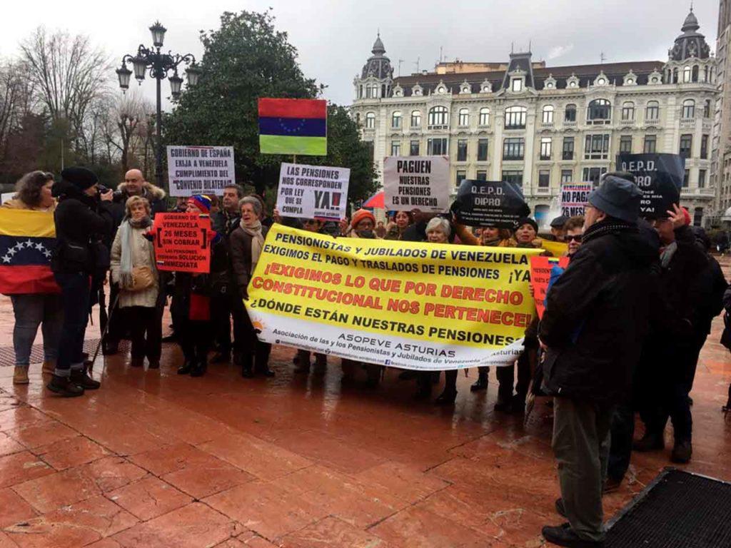 Imagen de archivo de una protesta organizada por Asopeve.