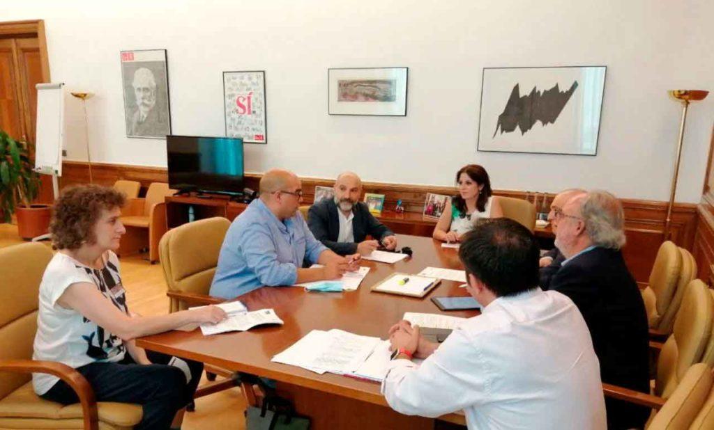 Reunión de la Comisión de Seguimiento del Acuerdo de Investidura entre BNG y PSOE.