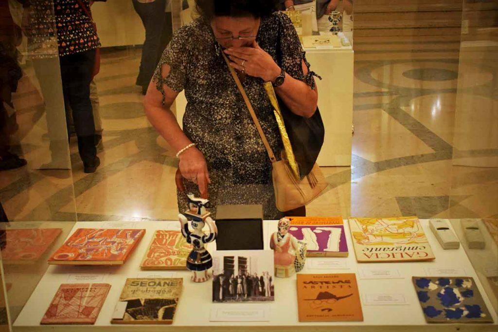 Exposición sobre Luis Seoane organizada por el MEGA en abril de 2019.