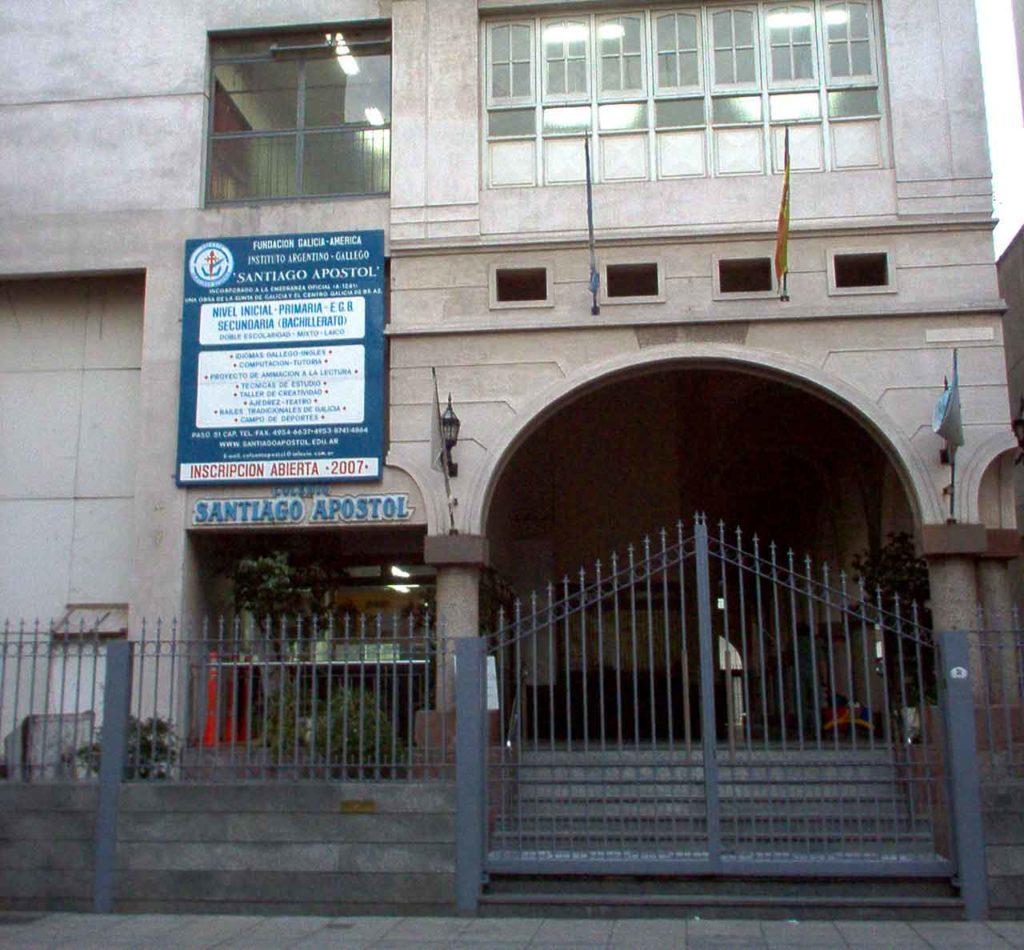 El Colegio Santiago Apóstol cuenta en la actualidad con 565 alumnos.