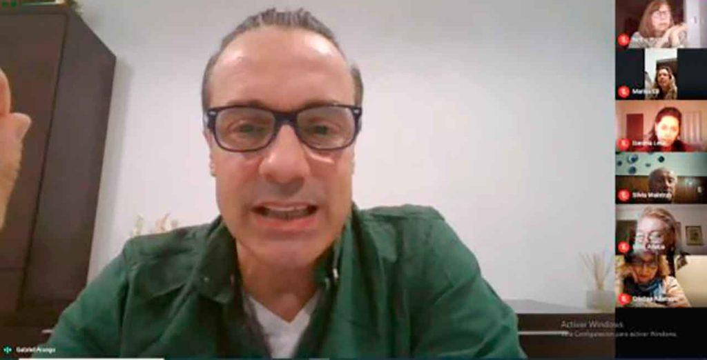 Gabriel Arango impartió el curso.