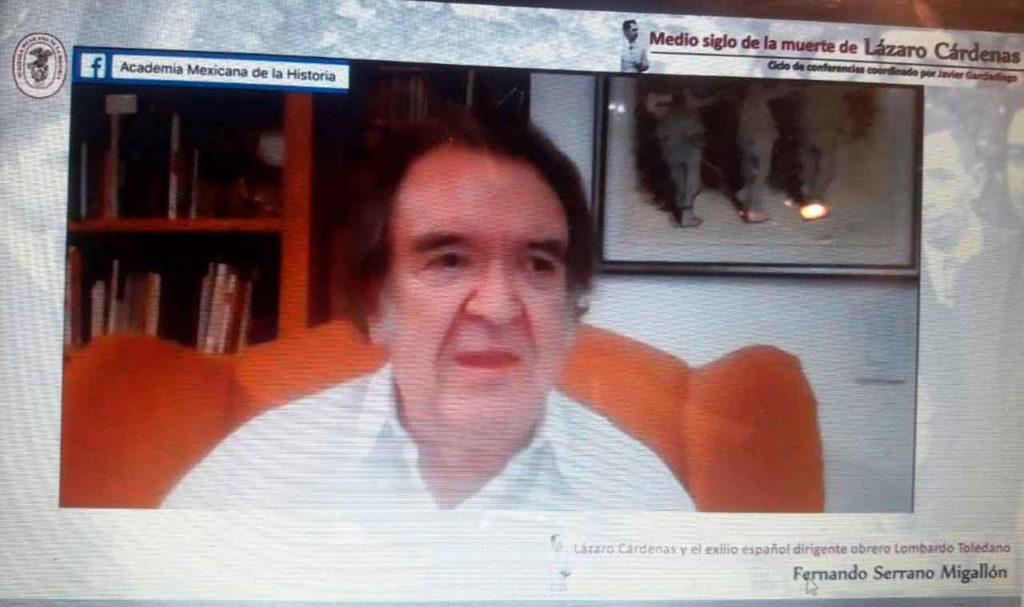 Conferencia de Fernando Serrano.