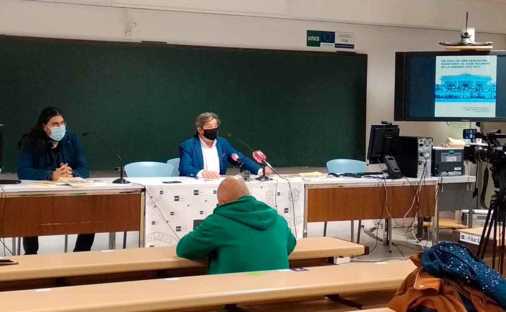 Acto de presentación del libro sobre la historia del Club Villarino.