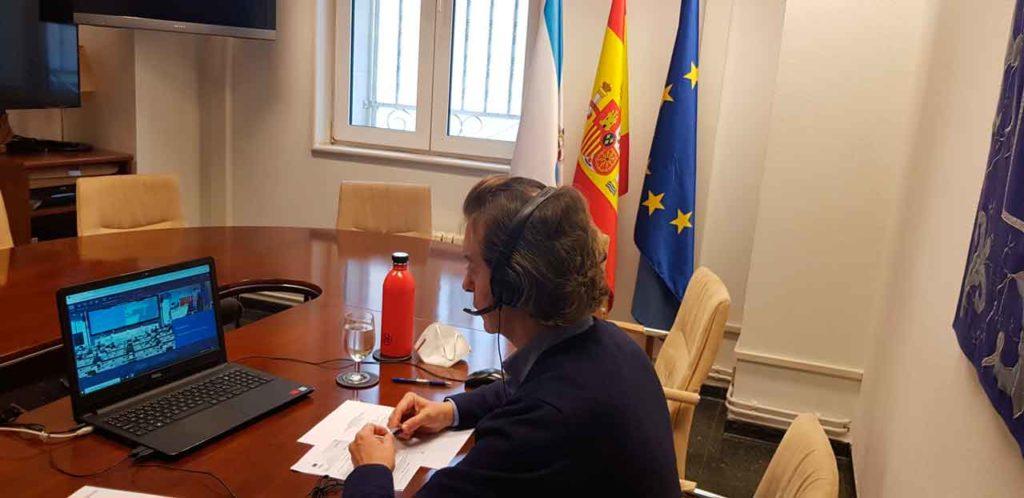 Jesús Gamallo, durante el pleno del Comité Europeo de las Regiones.