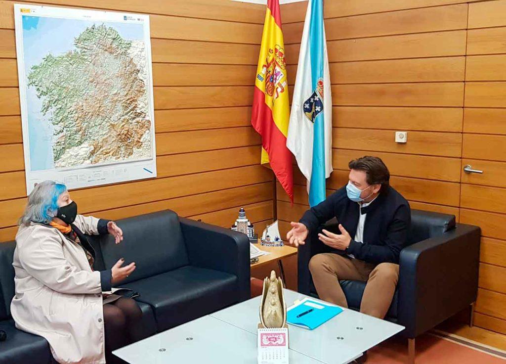 María Xosé López y Antonio Rodríguez Miranda.
