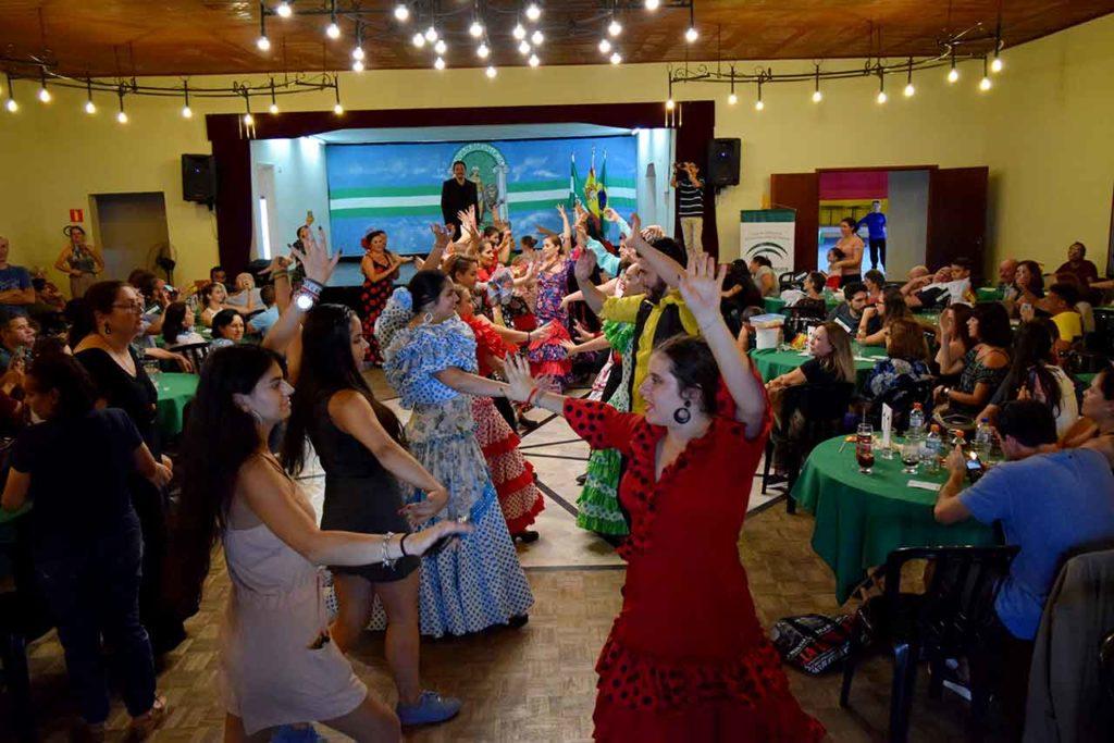 Imagen de archivo de la celebración del Día de Andalucía en Curitiba, Brasil, el pasado mes de marzo.