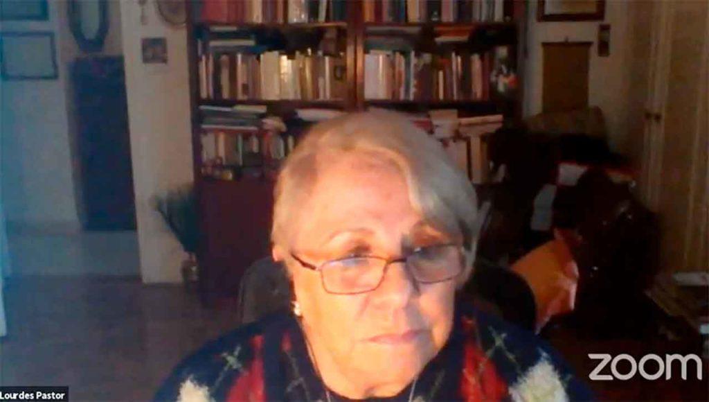 La autora del libro, Lourdes Pastor.