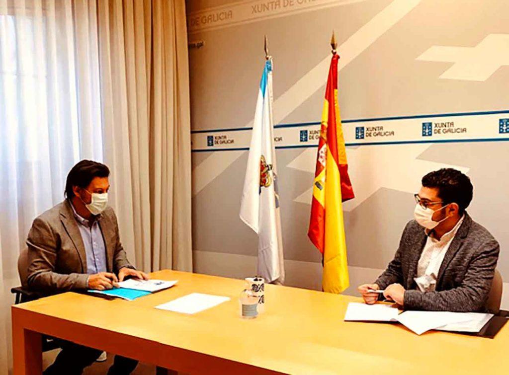 Antonio Rodríguez Miranda y Alexandre Sotelino.